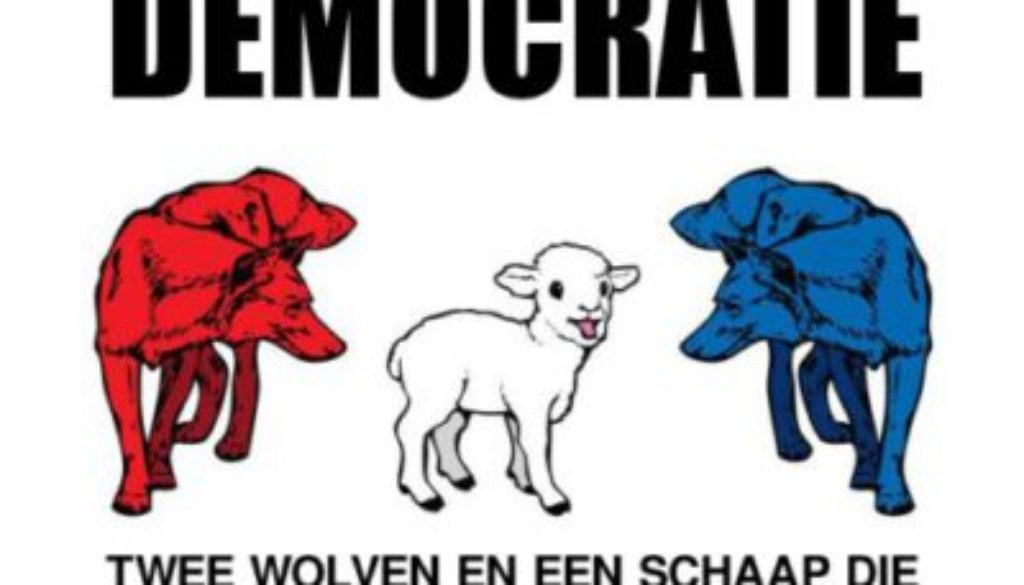 De aarde is plat, varkens kunnen vliegen, en Nederland is een … democratie ?